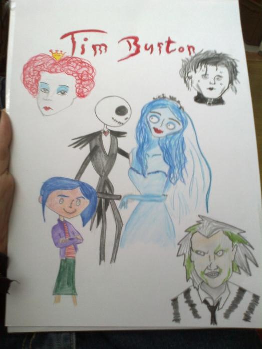 Tim Burton by Deresa